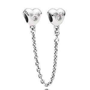 Pandora Disney Mickey Minnie Safety Chain